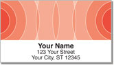 Orange Networker Address Labels