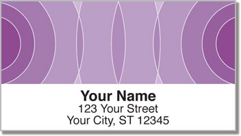 Purple Networker Address Labels