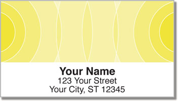 Yellow Networker Address Labels