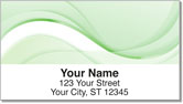 Green Wave Address Labels