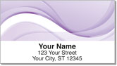 Purple Wave Address Labels