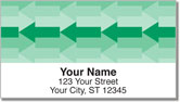 Green Arrow Address Labels