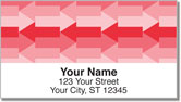 Red Arrow Address Labels