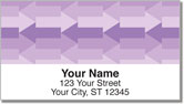 Purple Arrow Address Labels