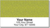Green Topographic Address Labels