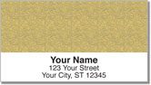 Tan Topographic Address Labels