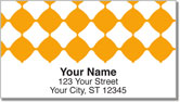 Orange Bead Address Labels