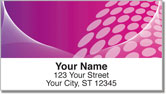 Pink Contempo Address Labels
