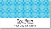 Blue Box Scroll Address Labels