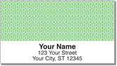 Green Box Scroll Address Labels