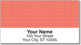 Red Box Scroll Address Labels
