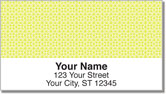 Yellow Box Scroll Address Labels