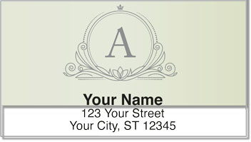 A Monogram Address Labels