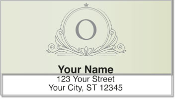 O Monogram Address Labels