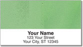 Green Mesh Address Labels