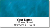 Blue Light Wave Address Labels