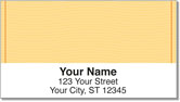 Orange Safety Address Labels