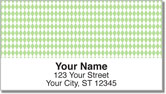 Green Diamond Address Labels
