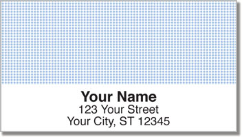Blue Dot Address Labels