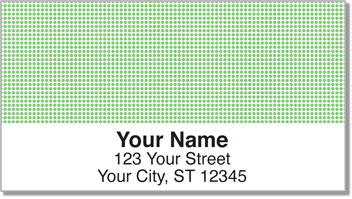 Green Dot Address Labels