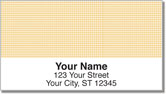 Peach Dot Address Labels