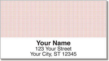 Pink Dot Address Labels