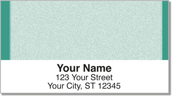 Green Sponge Pattern Address Labels