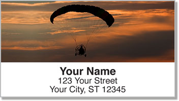 Powered Parachute Address Labels