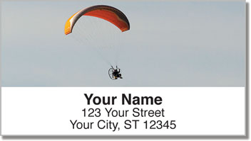 Powered Parachute 2 Address Labels