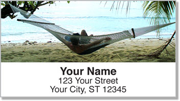 Beach Hut Resort Address Labels