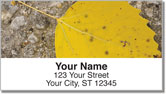 Autumn Leaves Address Labels