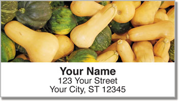 Farmers' Market Address Labels