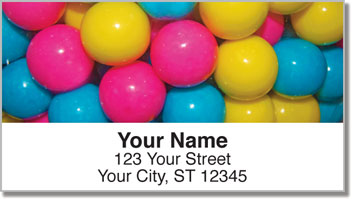 Gumball Joy Address Labels