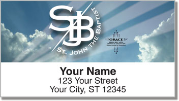 St. John the Baptist Address Labels