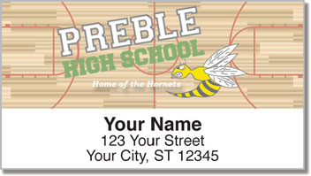 Preble Athletic Address Labels