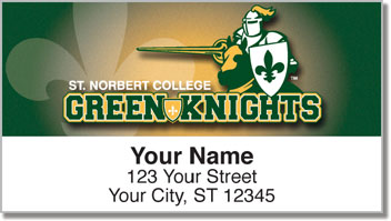 St. Norbert Athletic Address Labels