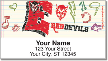 Green Bay East Academic Address Labels