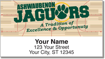 Ashwaubenon Athletic Address Labels