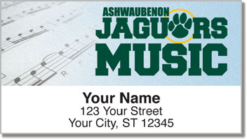 Ashwaubenon Music Address Labels