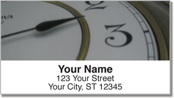 Classic Clock Address Labels