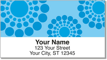 Disco Dot Address Labels