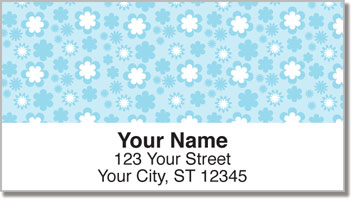 Cute Flower Address Labels