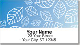 Falling Leaves Address Labels