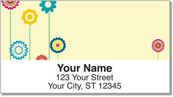 Flower Child Address Labels