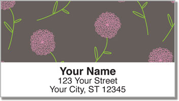 Shower of Flowers Address Labels