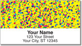 Paint Splatter Address Labels