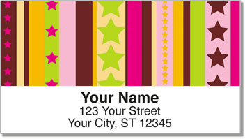 Stars & Bars Address Labels