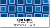 Retro Square Address Labels
