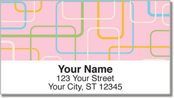 Retro Style Address Labels