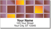 Colorful Tile Address Labels